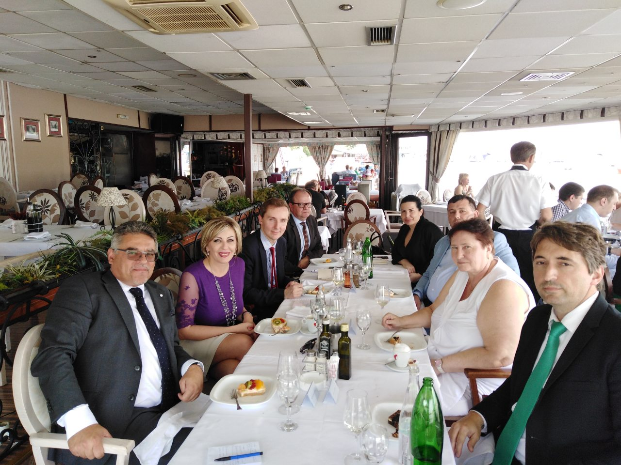 J. Joksimović and V4 ambassadors: EU enlargement policy – priority of the Visegrad Group