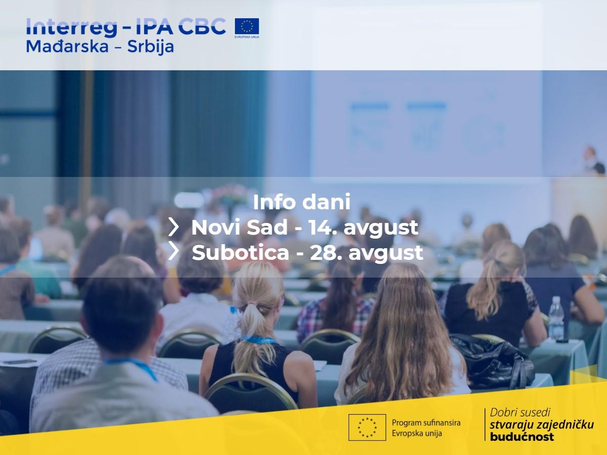 Програм прекограничне сарадње Мађарске и Србије организује информативне семинаре за потенцијалне кориснике у Србији