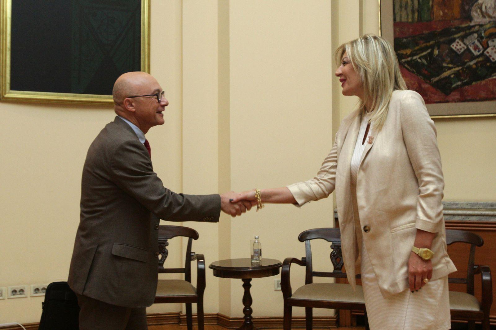 Ј. Јоксимовић и Моргадо: Унапређење координације Европске инвестиционе банке и Министарства за европске интеграције