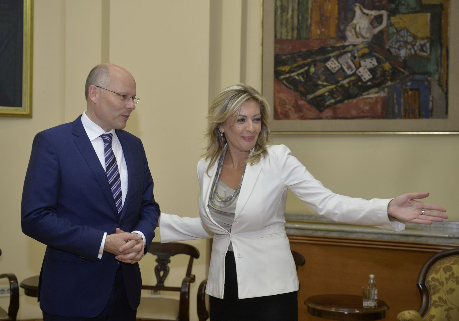 J. Joksimović and Beyer: Serbia – an important and reliable candidate and partner of the EU