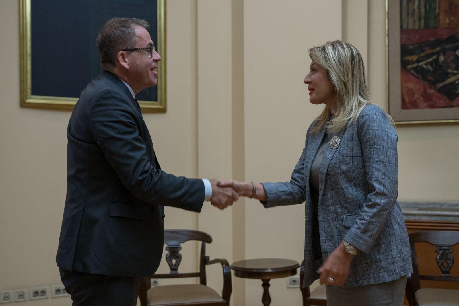 Ј. Јоксимовић и Ел о наставку развојне сарадње Србије и Немачке