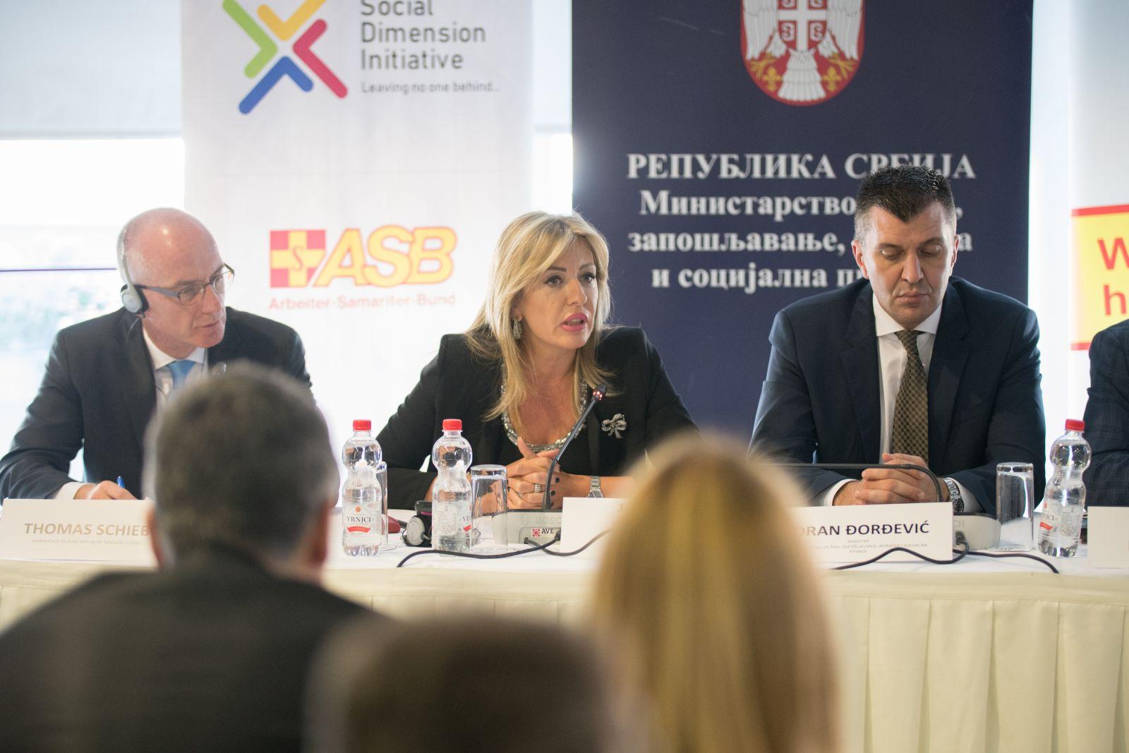 Ј. Јоксимовић: Социјална димензија кључна у процесу ЕУ интеграција