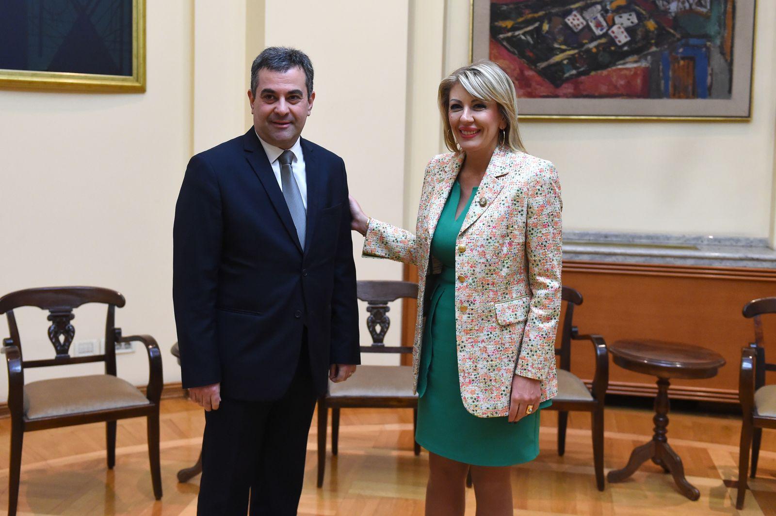 Ј. Јоксимовић и Нанобашвили: Грузија изузетно уважава искуства Србије  у процесу европских интеграција