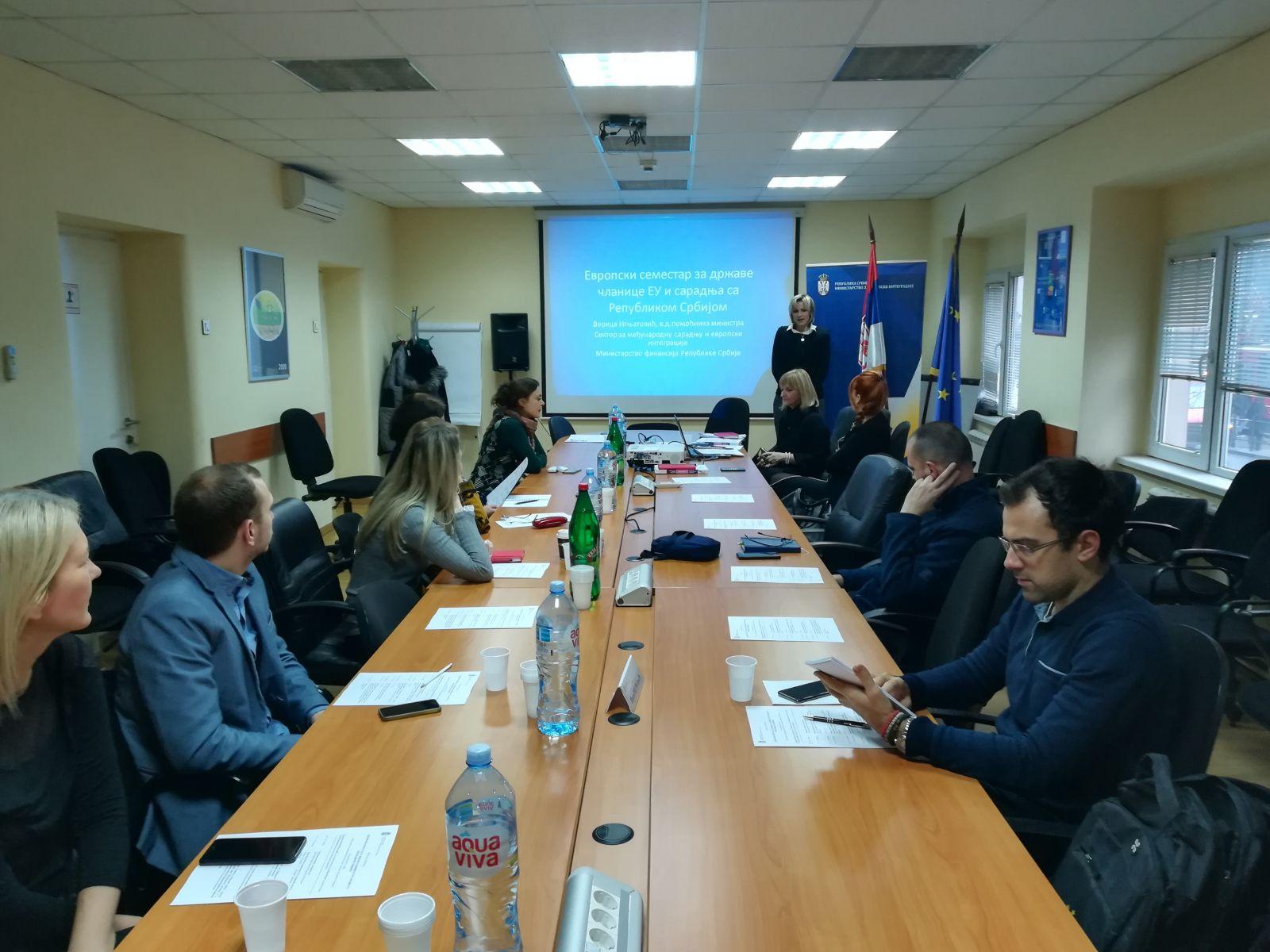 Отворен семинар о европском семестру