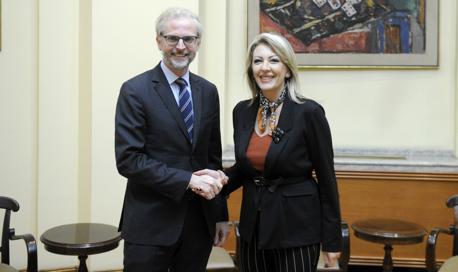 J. Joksimović and Lutterotti: Austria advocates a more stimulating and faster negotiation process