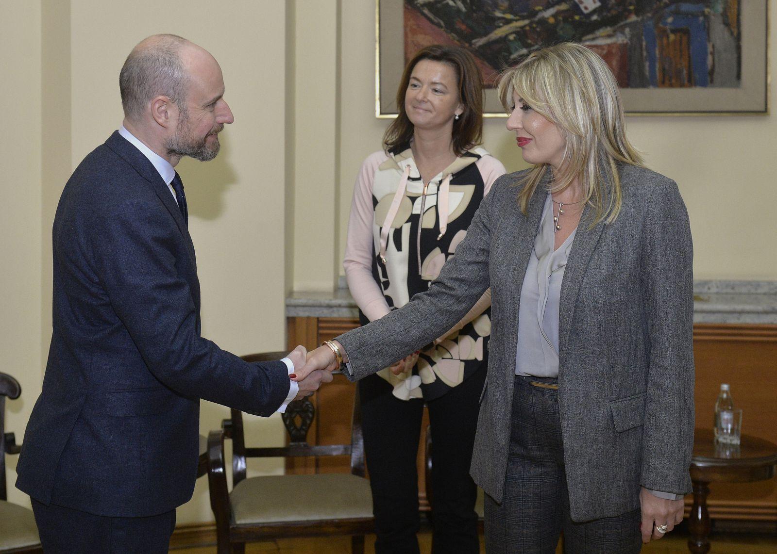 Јоксимовић и делегација ЕП о циљевима међупартијског дијалога