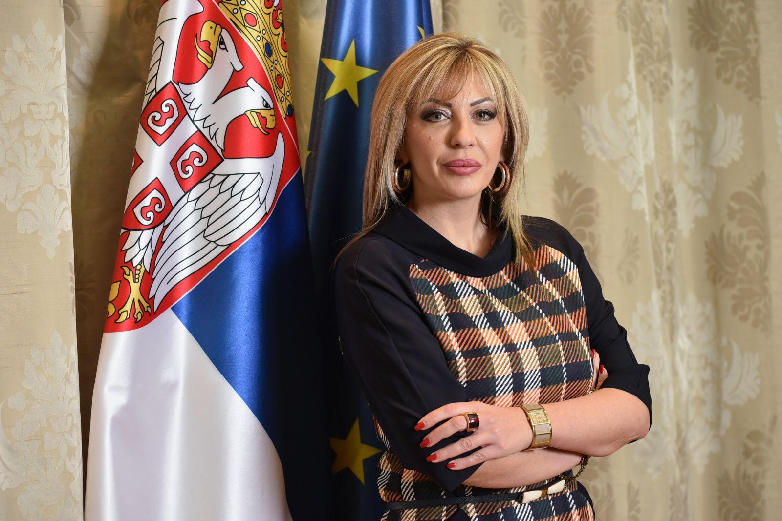 Ј. Јоксимовић: Опредељени смо за ЕУ због мира и напретка грађана