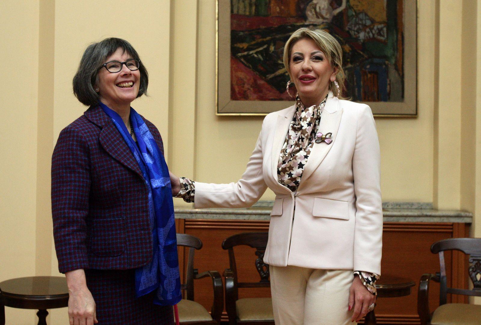 Ј. Јоксимовић и Маклауд: Фокус на јачању билатералних односа УК и Србије