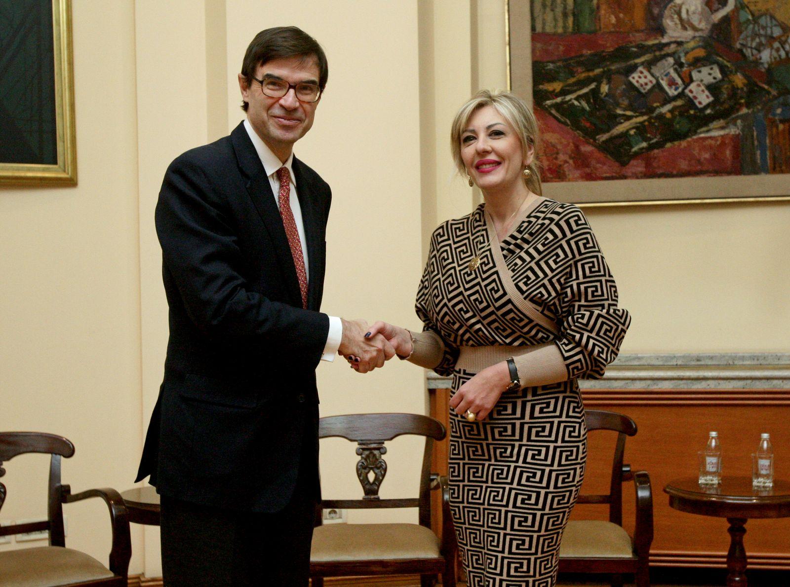 Ј. Јоксимовић и Гонзалес – Барба Перa: Шпанија искрено подржава европску будућност Србије
