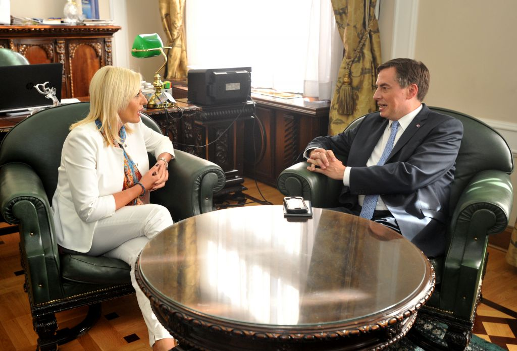 Joksimović and McAllister: Expectedly good and useful visit