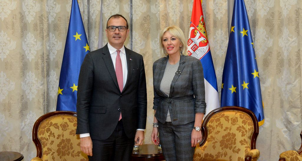 Joksimović and Fabrizi about the plans for Serbia's accession process in 2018