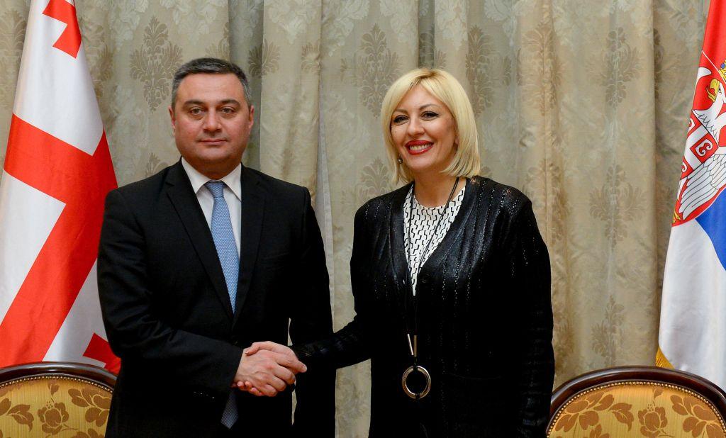 Грузија цени искуства Србије на европском путу