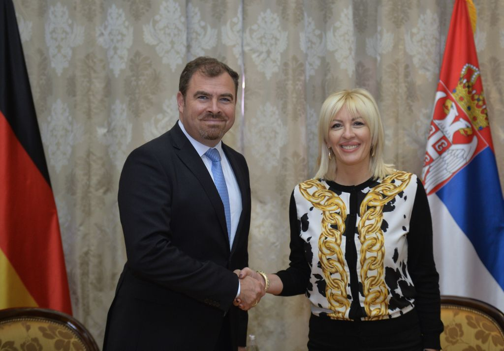 J. Joksimović and Florian Hahn: Serbia has demonstrated that it is committed to regional stability