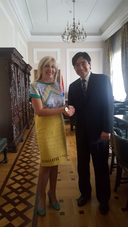 Joksimović and Takahara discuss continuation of development cooperation through projects