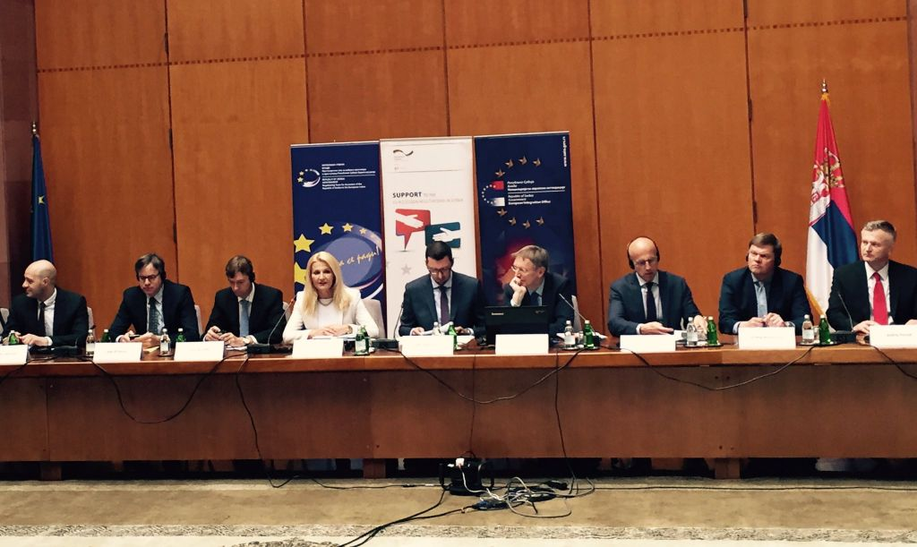"Conference ""EU Accession Negotiations: New Context"" was held today at the Palace of Serbia in Belgrade"
