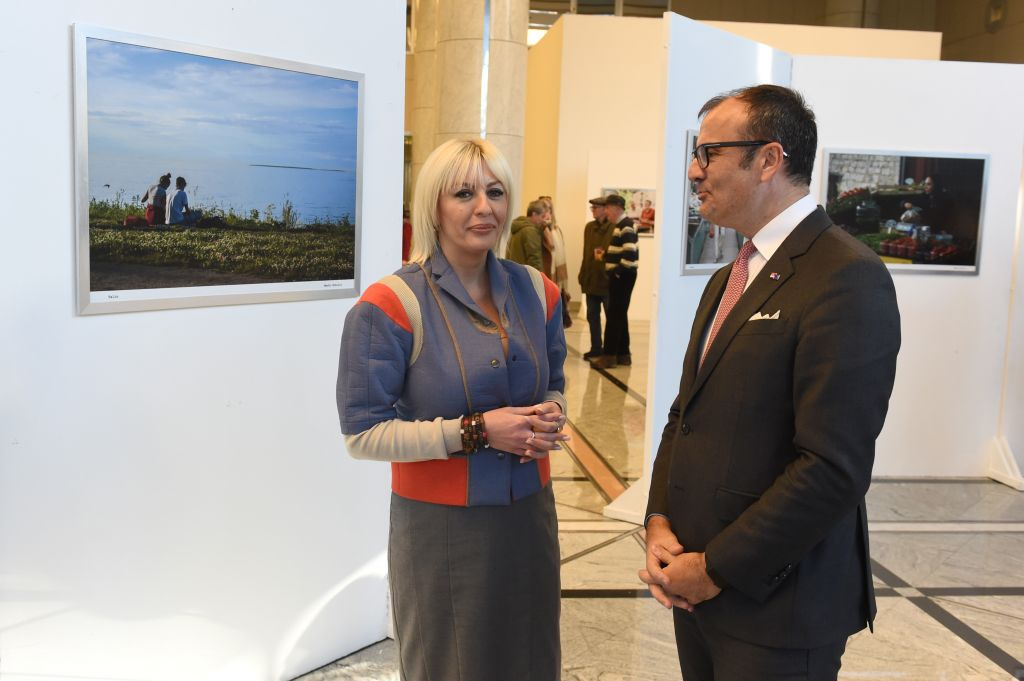 "J. Joksimovic and Fabrizi opened the exhibition ""Applied Nostalgia"""