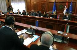 Ј. Јоксимовић на састанку са амбасадорима држава чланица ЕУ поводом Извештаја ЕК о напретку Србије