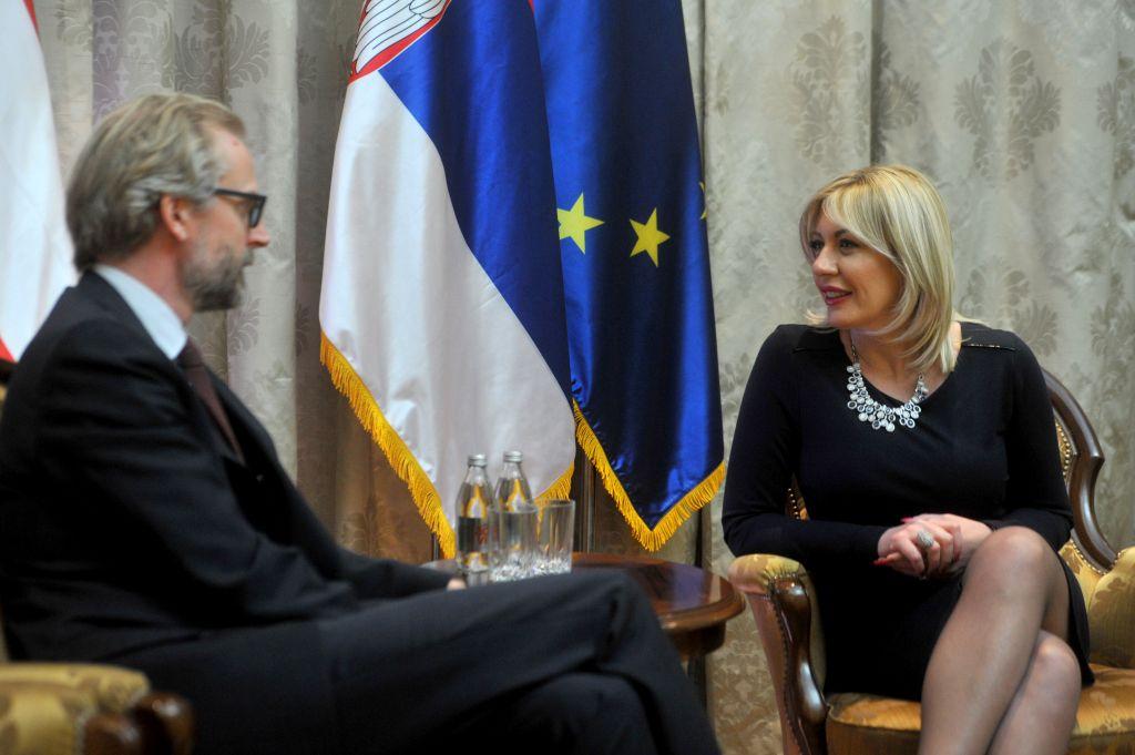 J. Joksimović and Lutterotti: Austria strongly supports the European path of Serbia