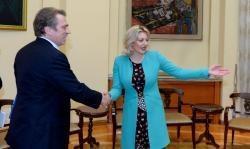 Састанак Ј. Јоксимовић и Т. Осовског