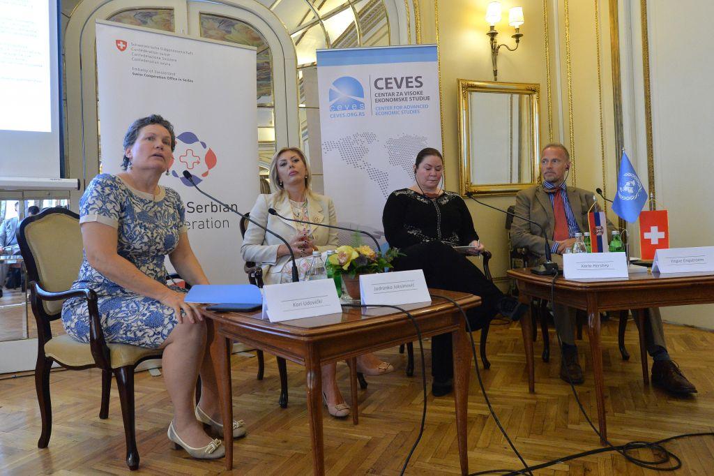 Ј. Јоксимовић: Европске интеграције поставиле стратегију одрживог развоја Србије