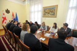 Састанак министра Ј. Јоксимовић с Тамаром Кулардаве