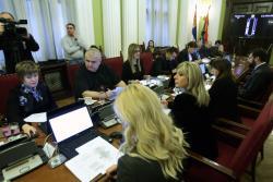 Јадранка Јоксимовић на скупштинском Одбору за европске интеграције