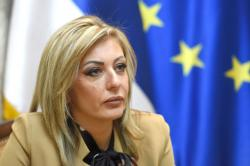 Министар за европске интеграције Јадранка Јоксимовић