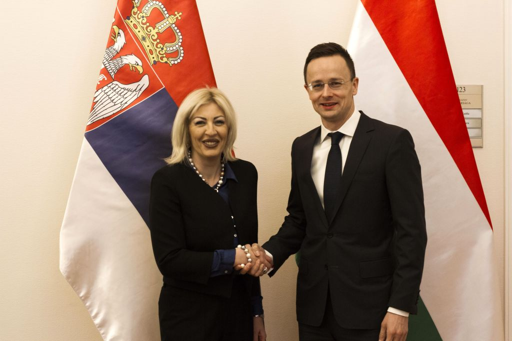 J. Joksimović and Szijjártó: Hungary is an honest partner to Serbia in the process of European integration