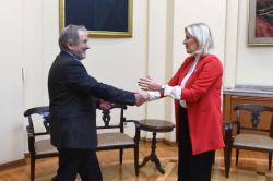   Ј. Јоксимовић и Владимир Гаспарич   