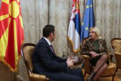 Јадранка Јоксимовић и Бујар Османи