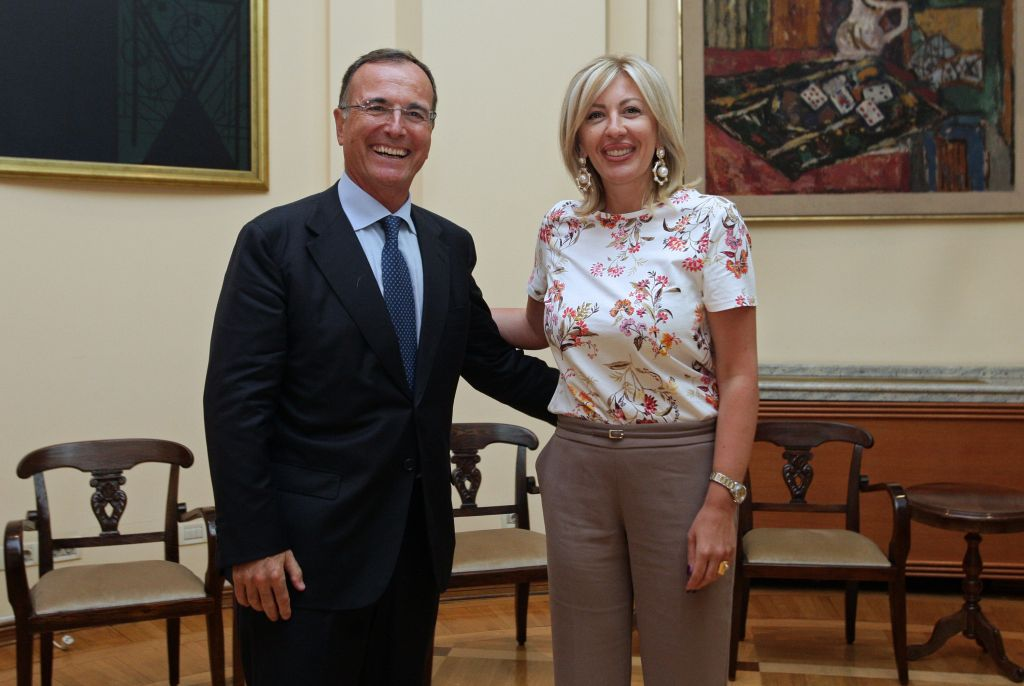 J. Joksimović and Frattini: Serbia leads a responsible and well-planned European policy