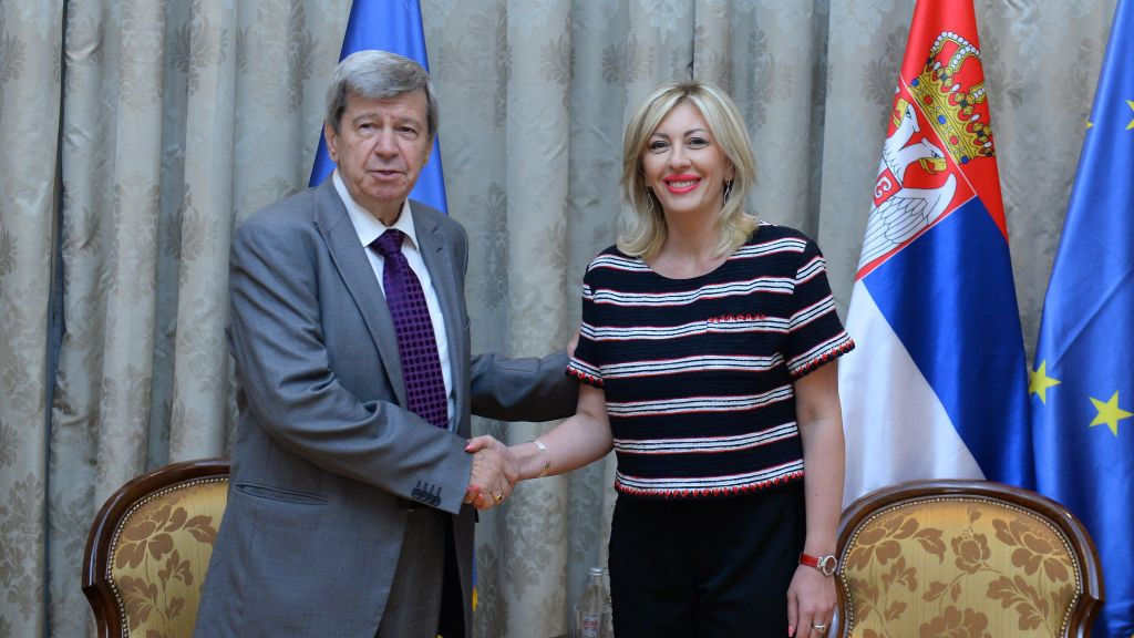 J. Joksimović and Kukan: The European Parliament recognises Serbia's constructive and active role