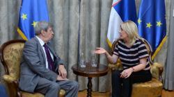 Ј. Јоксимовић се састала са Едуардом Куканом