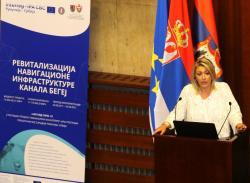 Ј. Јоксимовић и потпредседник Покрајинске владе
