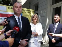 Јадранка Јоксимовић и Ненад Иванишевић