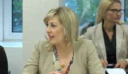 Ј. Јоксимовић са амбасадорима држава чланица ЕУ