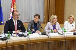 Састанaк са амбасадорима земаља чланица ЕУ у Србији