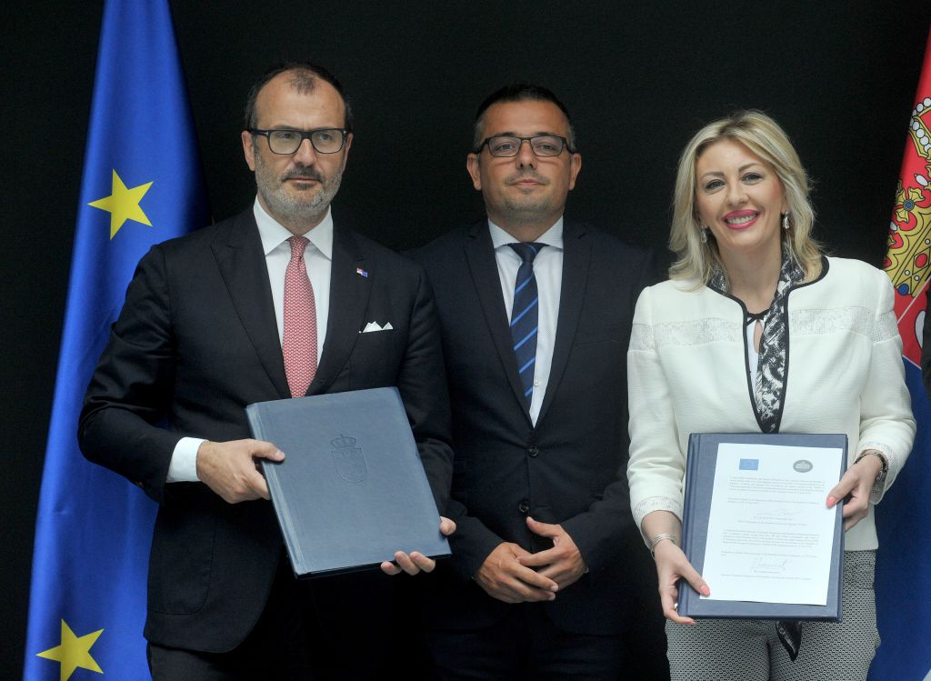 J. Joksimović: EUR 175 million in grants to Agricultural Sector from the EU by 2020