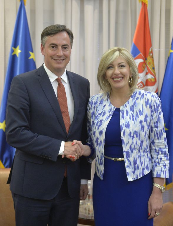 J. Joksimović and McAllister: Serbia's results have been noticed, support from the EP shall not be lacking