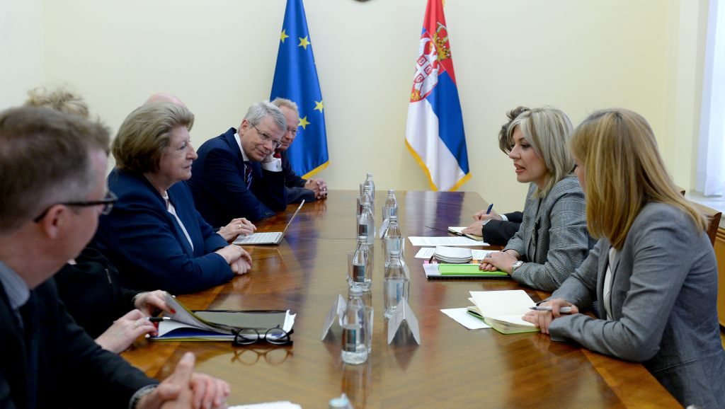 J. Joksimović with Venice Commission delegation
