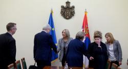 Ј. Јоксимовић са делегацијом Венецијанске комисије