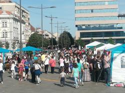 Прослава Дана Европе у Зрењанину - Eвропско село