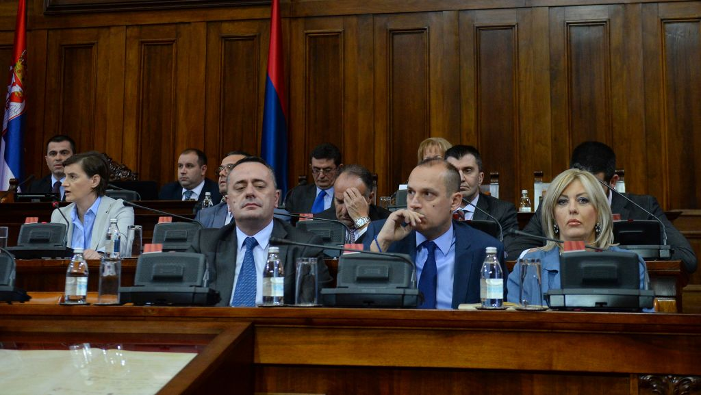 National Assembly of the Republic of Serbia – questions by Assembly members