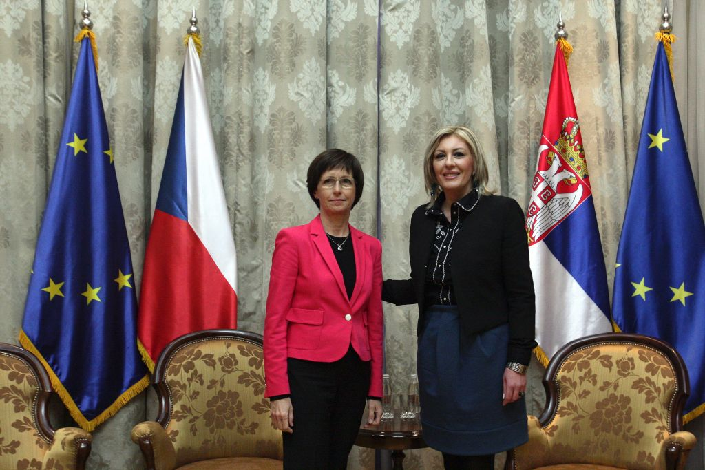 J. Joksimović and I. Hlavsová: The Czech Republic remains Serbia's partner in the continuation of European integration