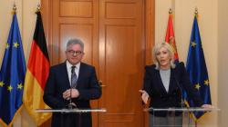 Министри Јадранка Јоксимовић и Гвидо Волф