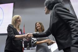 Министар за европске интеграције Јадранка Јоксимовић на Шестој националној конференцији о прекограничној сарадњи