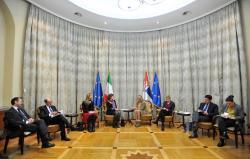 Састанак Ј. Јоксимовић и М. Гранде