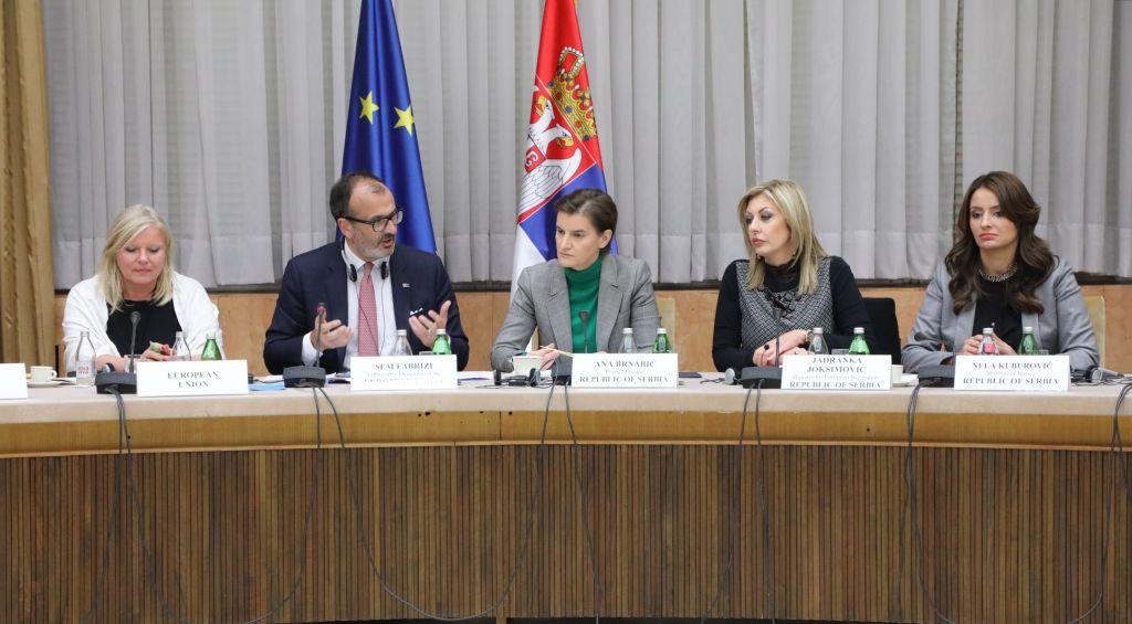 Ј. Јоксимовић: Отварање нових поглавља биће потврда напретка Србије