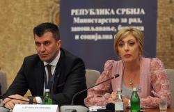 """Јадранка Јоксимовић на конференцији """"Иницијатива за социјалну димензију ЕУ интеграција"""""""