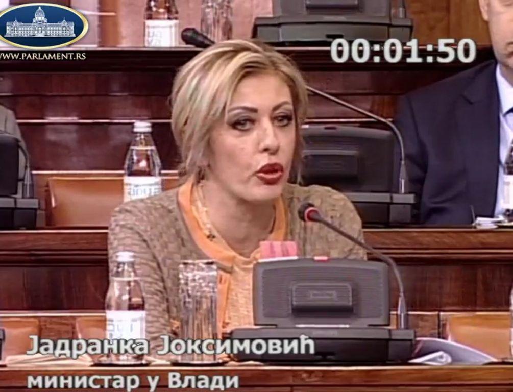 Ј. Јоксимовић: Србија ће одлучно деловати, институционално и дипломатски